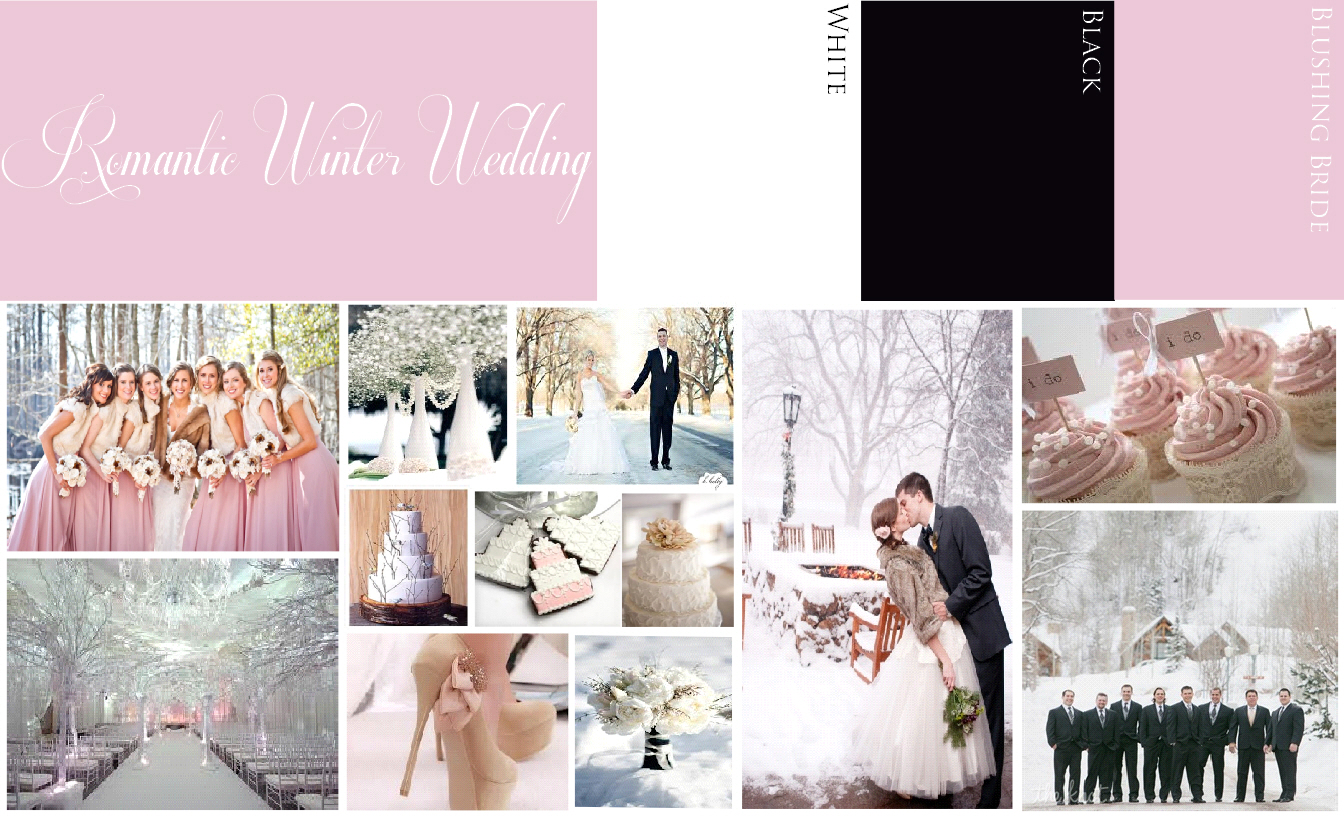 Romantic Winter Wedding Ideas - Visions Event Studio