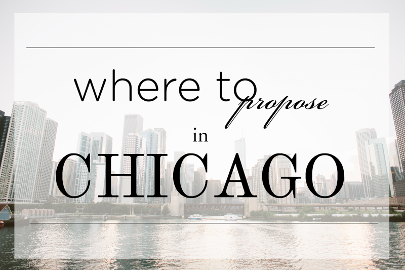 Top Places To Propose In Chicago