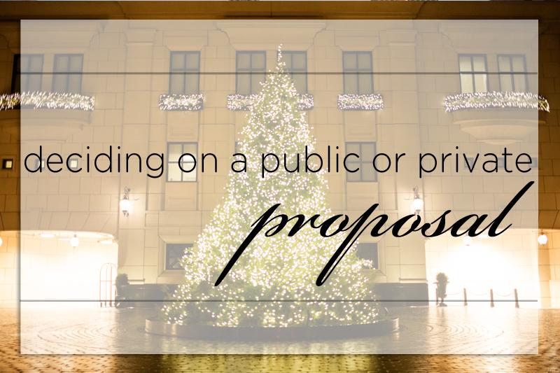 Proposals: Public or Private