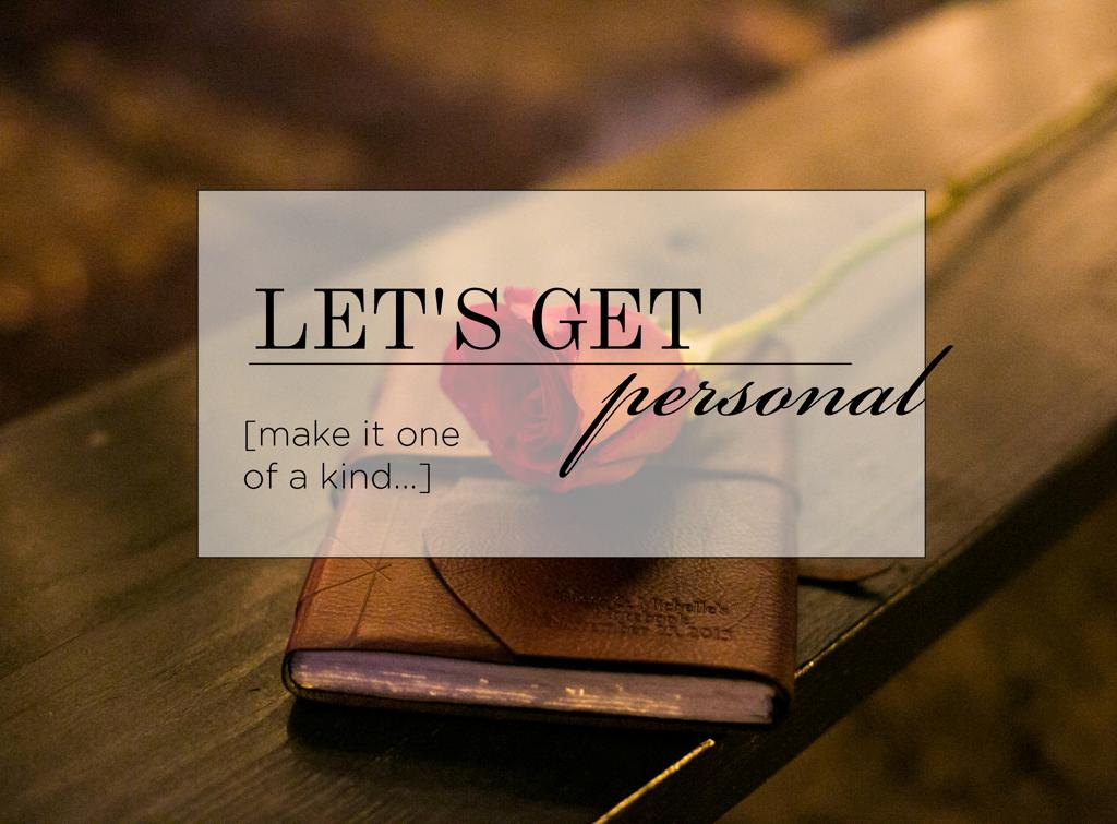 Proposal Make it Personal