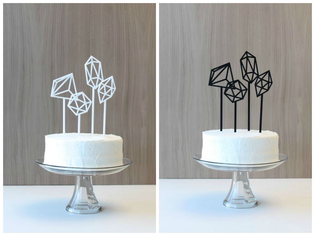host and toast cake topper