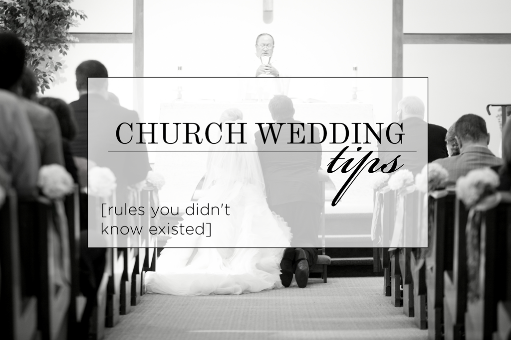 Church Wedding Tips