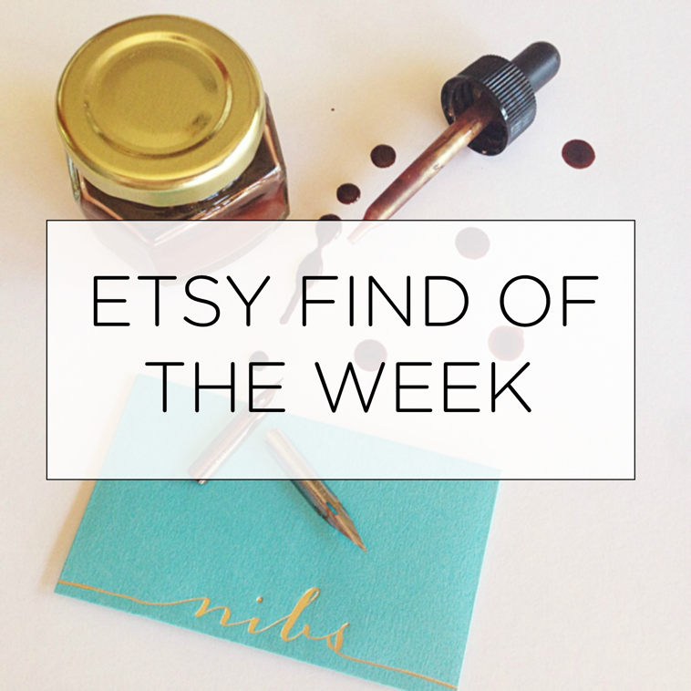 LH Calligraphy Etsy Find of the Week