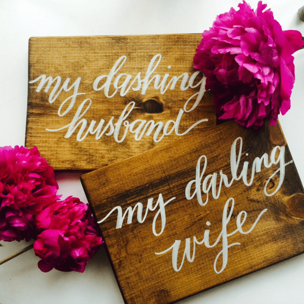 Etsy Find of the Week: LH Calligraphy
