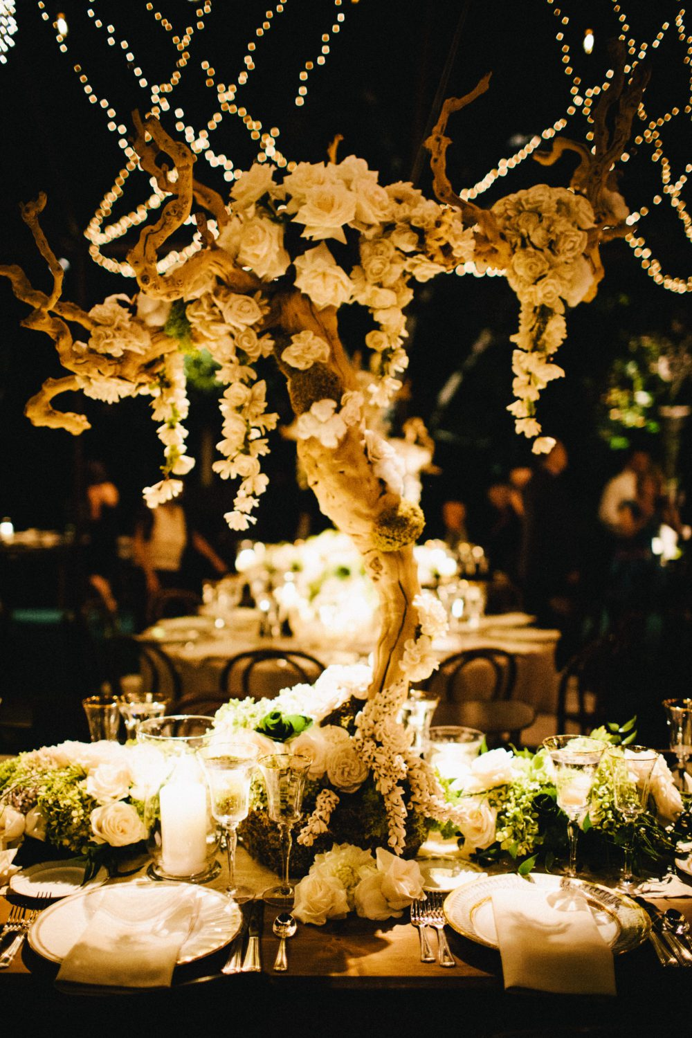 Romantic Wedding Centerpiece
