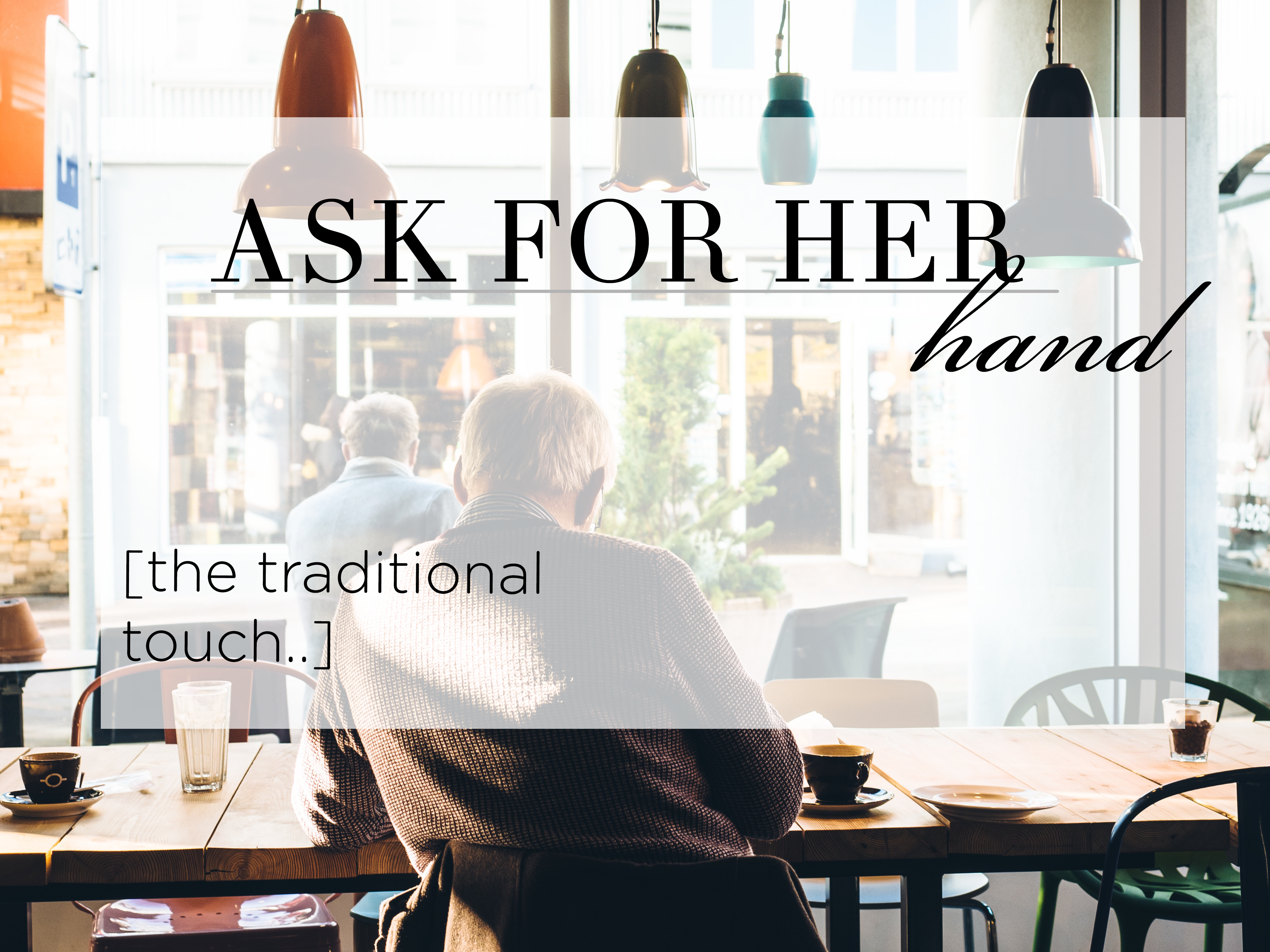 Ask for Permission – The Traditional Touch