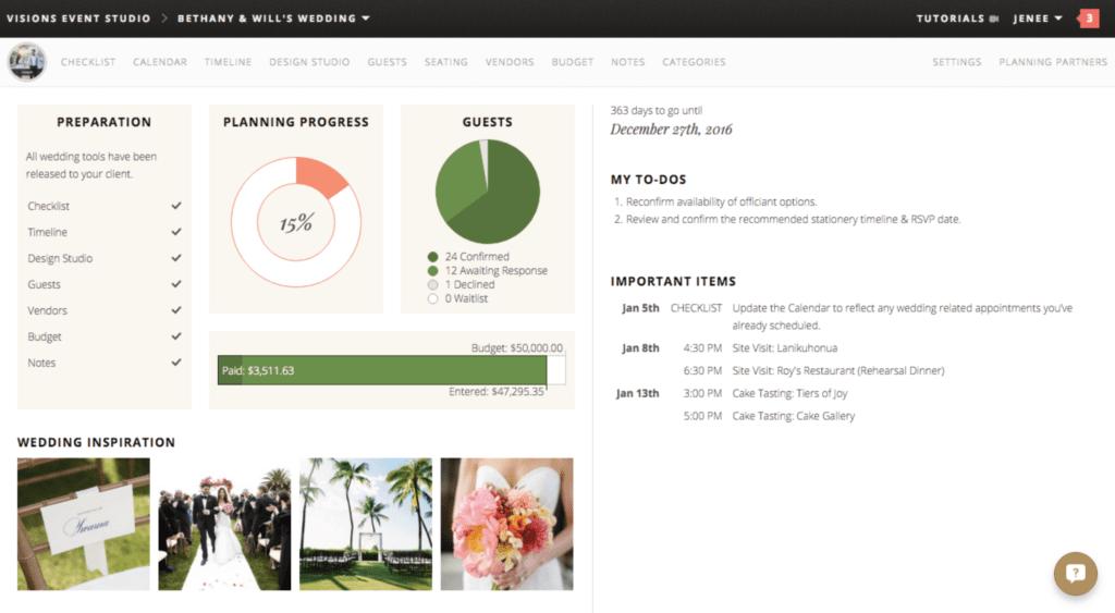 Wedding Planner Tools