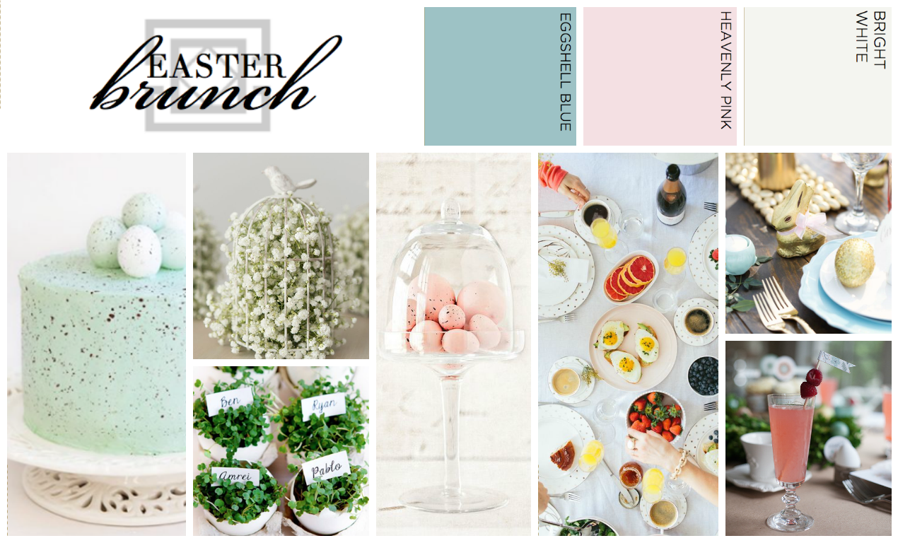 host an easter brunch