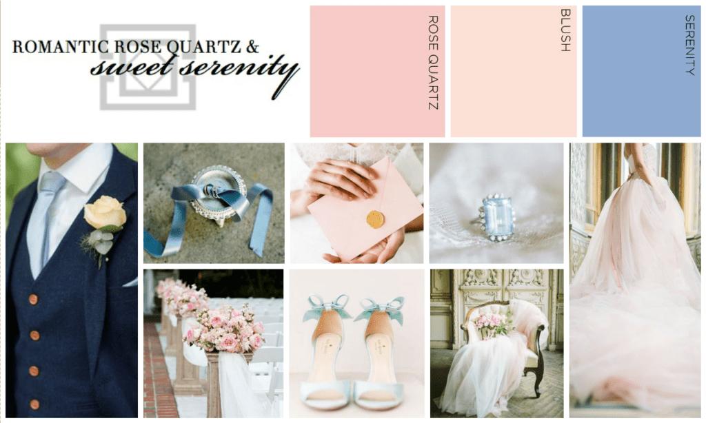 Romantic Rose Quartz and Sweet Serenity