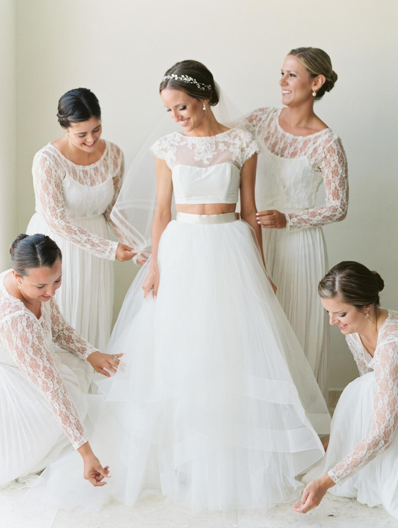 Currently Craving – The Two Piece Wedding Gown