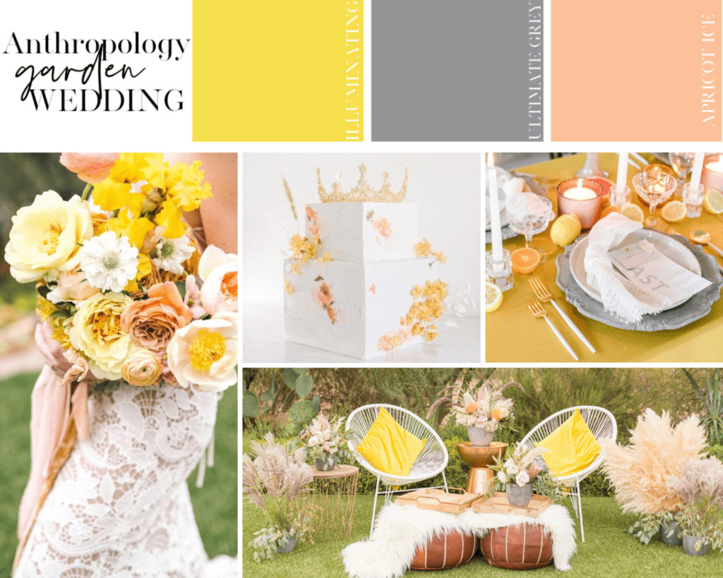 Anthropology Wedding Style Marries 2021 Pantone